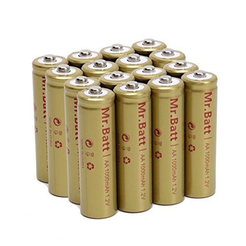 Mr Batt Nicd Aa Rechargeable Batteries For Solar Lights