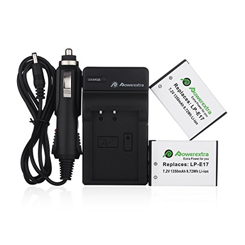 The camera will not prompt our battery is not a genuine battery when you put it in the camera. Powerextra charger also can charge the original canon LP-E17 ...