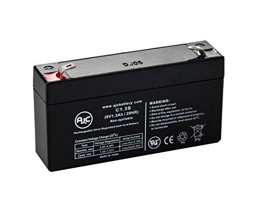 6v 1 3ah Backup Battery Leoch Djw6 1 2 T1 F1 6v1 3ah 6v1