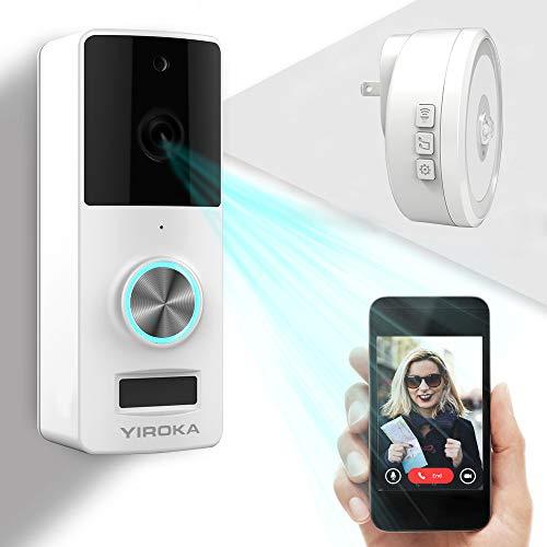 Wireless Video Doorbell Camera, Mbuynow WiFi 1080P Doorbell