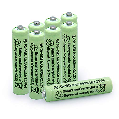 Qblpower Solar Light Batteries Aaa Triple A Nimh 600mah 1